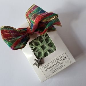 NEW Christmas Gift Pack BAMBOO & WHITE LILY Handcrafted Soap Made in Australia